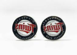 Minnesota Twins Cufflinks MLB Baseball