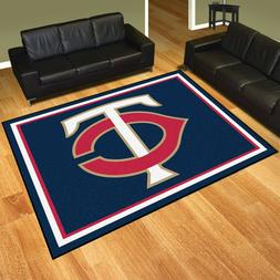Minnesota Twins 8' X 10' Decorative Ultra Plush Carpet Area