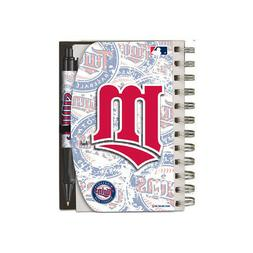 National Design Minnesota Twins Deluxe Hardcover 4 x 6-Inche
