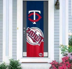 """Minnesota Twins Door Banner 24"""" x 84"""""""