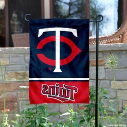 WinCraft Minnesota Twins Double Sided Garden Flag