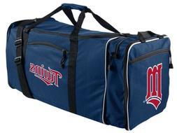Minnesota Twins Duffel Bag Premium Team Color Heavy Duty Ste