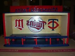 Minnesota Twins Bobble Head Display Case as pictured or choi