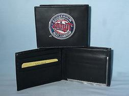 MINNESOTA TWINS  embroidered  Leather BiFold Wallet    NEW
