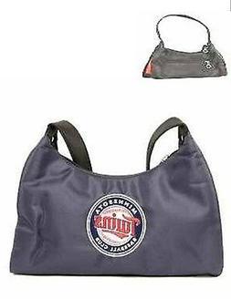 Minnesota Twins Embroidered Logo Purse Handbag - New