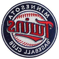 Minnesota Twins Embroidred Team Logo Collectible Patch