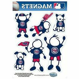 Minnesota Twins Family Magnet Set  Auto Car Stickers Emblems