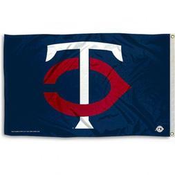 minnesota twins flag 3 x5 mlb tc