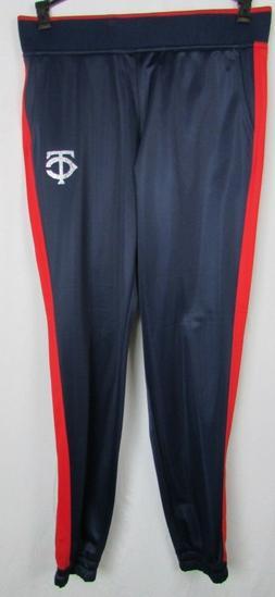Minnesota Twins G-III Women's Track Pants MLB Navy Blue Red