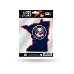Minnesota Twins Home State Sticker Flat Die Cut Decal Emblem