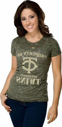 Minnesota Twins Infantry Camo Women's Cooperstown Pure Victo