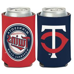 Minnesota Twins Logo Can Cooler 12oz Collapsible Koozie - Tw