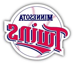 Minnesota Twins MLB Baseball Logo Car Bumper Sticker Decal -