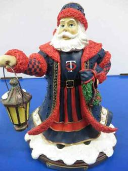 Minnesota Twins MLB Baseball Rare Christmas Olde World Santa