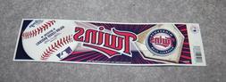minnesota twins mlb baseball sports bumper sticker