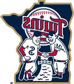 Minnesota Twins MLB Color Die-Cut Decal / Sticker *Free Ship