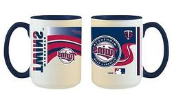 Minnesota Twins MLB Full Wrap 15oz Jumbo Coffee Mug FREE SHI