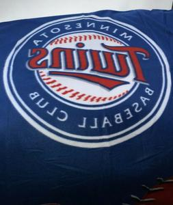 Minnesota Twins MLB Insiders Club Licensed Baseball Plush Bl