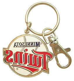 Minnesota Twins MLB Logo Key Chain