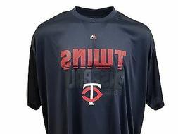Minnesota Twins Majestic MLB Men's Performance Wear T Shirt,