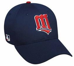 Minnesota Twins MLB OC Sports Hat Cap Navy Blue Red M Logo A