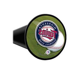 """Minnesota Twins MLB Plastic Trailer Hitch Cover for 2"""" recei"""