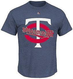 Minnesota Twins MLB SRN Run Producer Majestic Men's Tee Shir
