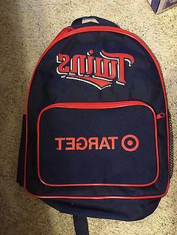 Minnesota Twins MLB Target school Backpack sga mlb