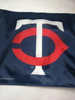 Minnesota TWINS MN MLB baseball official car flag NEW { TC L