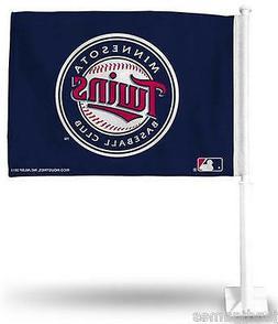 Minnesota TWINS MN MLB baseball official car flag NEW