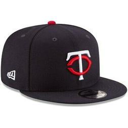 New Era Minnesota Twins Navy Team Color 9FIFTY Snapback Hat