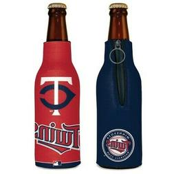 MINNESOTA TWINS NEOPRENE BOTTLE HOLDER COOZIE KOOZIE COOLER