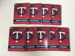 "Minnesota Twins Notebook, 5"" x 7"", 1 Subject, Wide Ruled, 16"