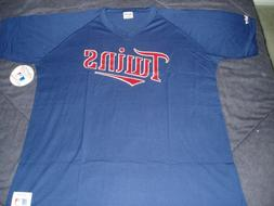 Minnesota Twins NWT AL Central pullover jersey licensed MLB