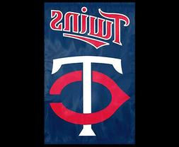 MINNESOTA TWINS Official MLB Team Dynamic Applique Premium W