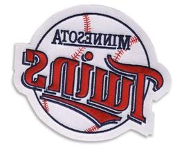 Minnesota Twins OLD Primary Team Logo Round Sleeve Jersey Pa