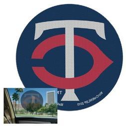 "Minnesota Twins Perforated 8"" Decal Film Auto Window Shade V"