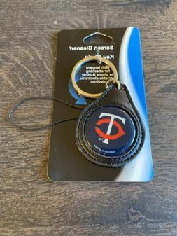 Minnesota Twins Screen Cleaner Keychain Key Chain MLB New
