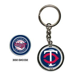 Minnesota Twins Spinner Keychain MLB New