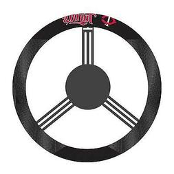 "Minnesota Twins Steering Wheel Cover Black Poly Suede 15"" DI"