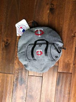 Minnesota Twins Storable Duffle Sports Travel Bag NEW WITH T