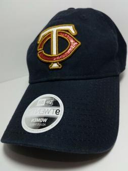 Minnesota Twins TC New Era 9TWENTY Strapback Adjustable Navy