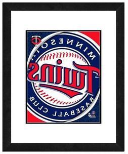 Photo File Minnesota Twins Team Logo Framed Print Picture Ar