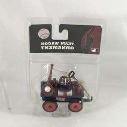 minnesota twins team wagon ornament mlb baseball