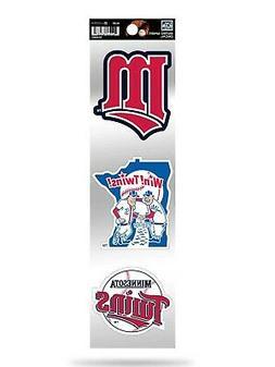 Minnesota Twins Triple Retro Throwback Spirit Decals Sticker