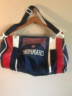 Minnesota Twins Vintage 1987 World Series Duffle Bag, Euc