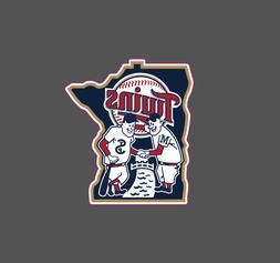 Minnesota Twins Vintage Logo 1961-1986 Sticker Vinyl Vehicle