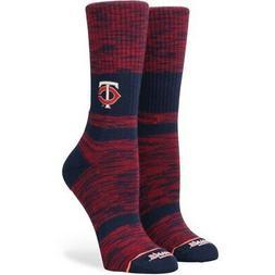 Stance Minnesota Twins Women's Classic Crew Socks