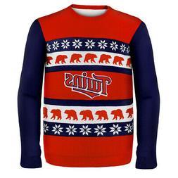 Minnesota Twins MLB Ugly Sweater Wordmark