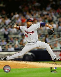 MLB Baseball Francisco Liriano Minnesota Twins Framed Photo